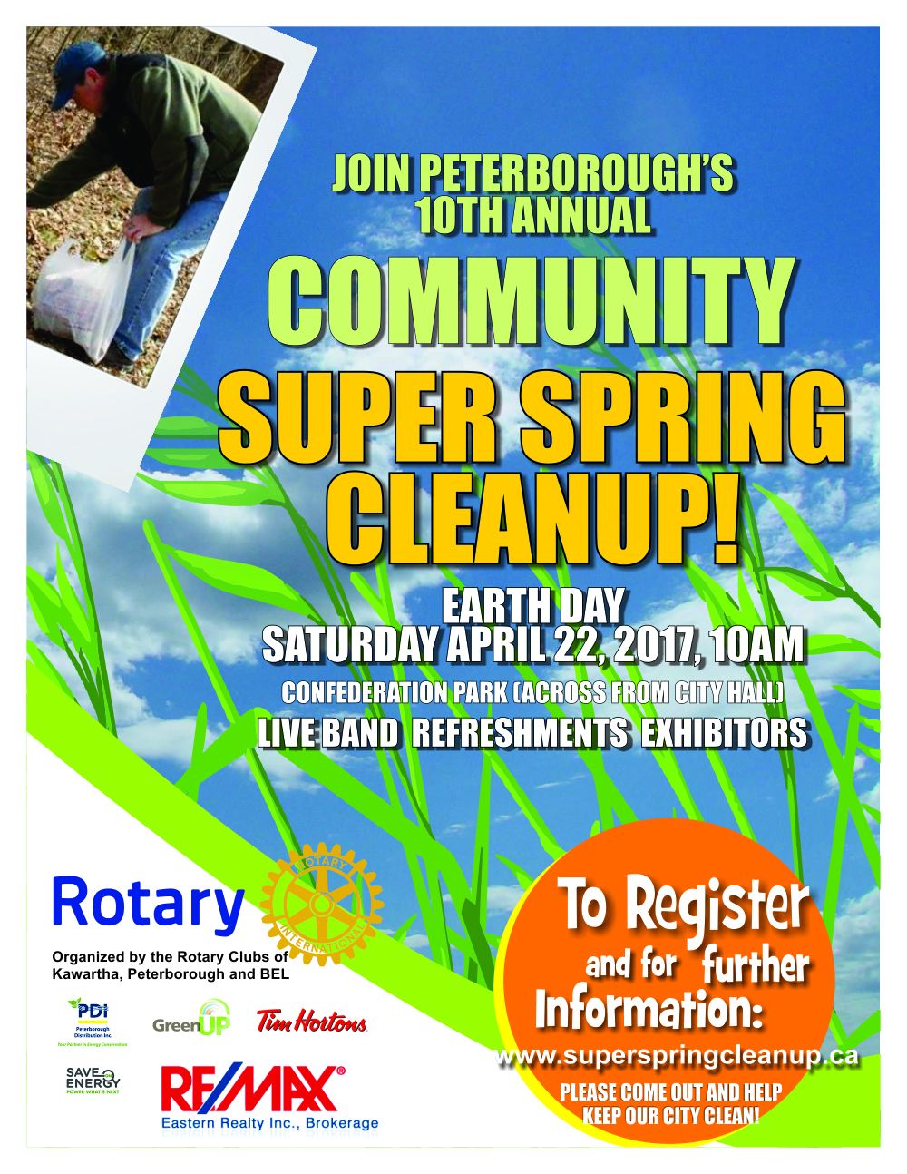 Rotary Super Spring Clean Up